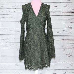 Keepsake the Label Women's Size Medium Green Dress